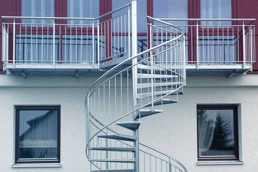 Metallbau | Treppen Ansbach von R&M Metallbau