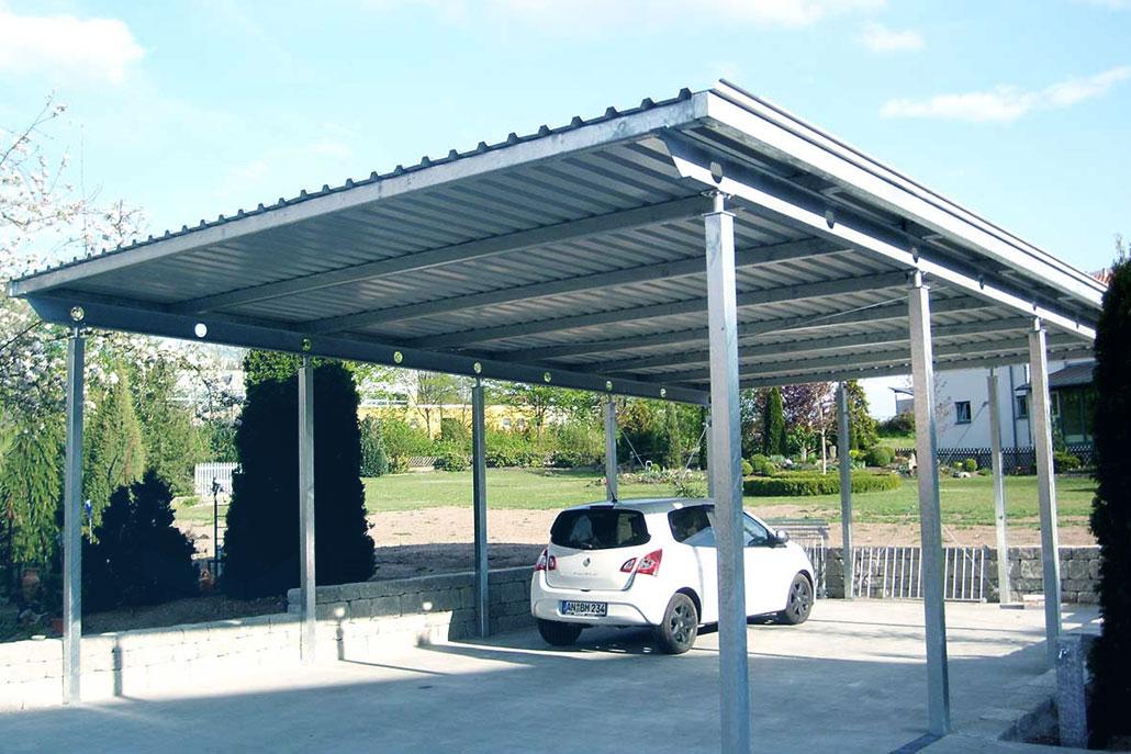 Metallbau: Überdachungen Ansbach | RM Metallbau