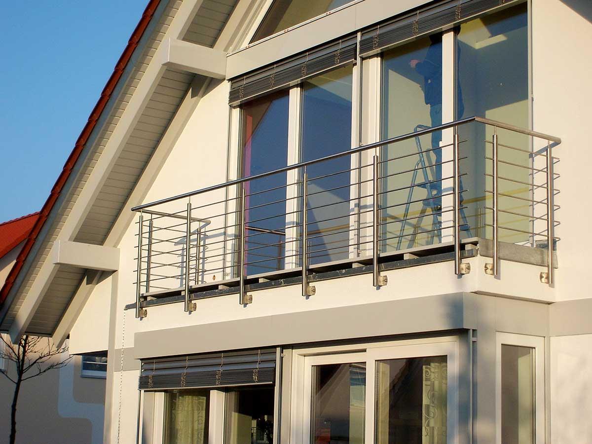 Metallbau Ansbach | Balkon Metall, Balkon Geländer Nördlingen