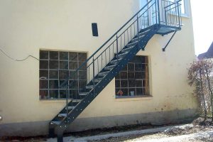 Außentreppe Nördlingen Stahl